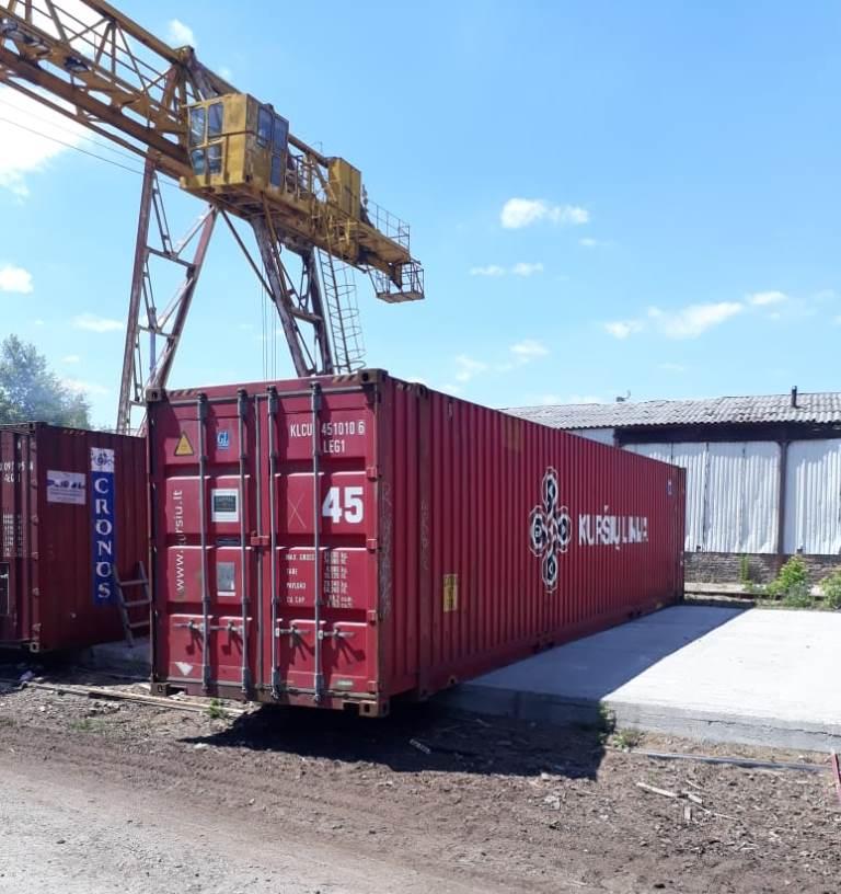 45 футовый контейнер морской