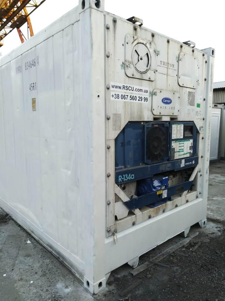Carrier купить контейнер рефрижератор холодильник 40 футов