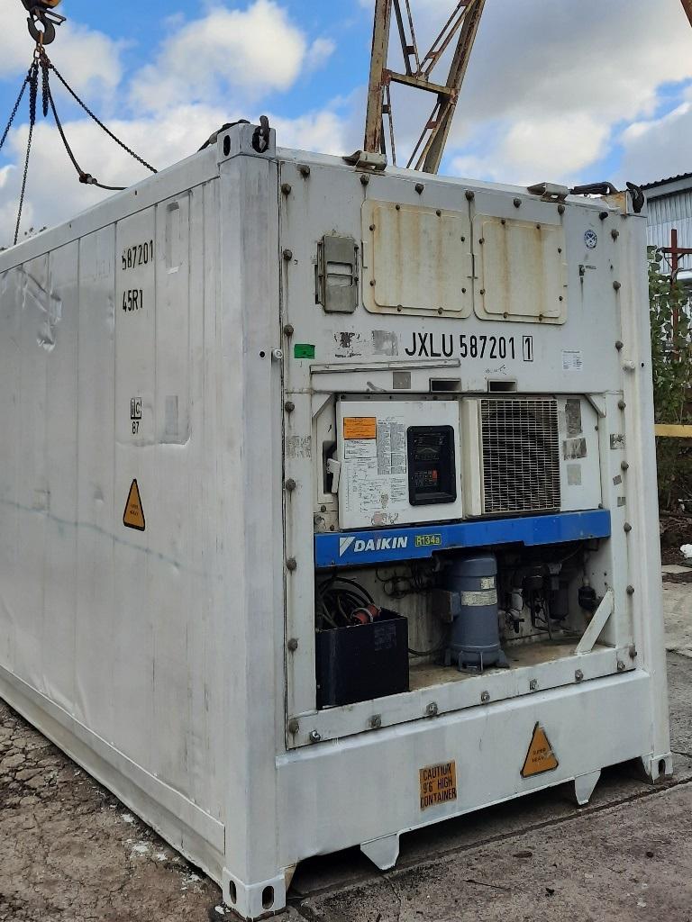 Daikin купить контейнер рефрижератор холодильник 40 футов