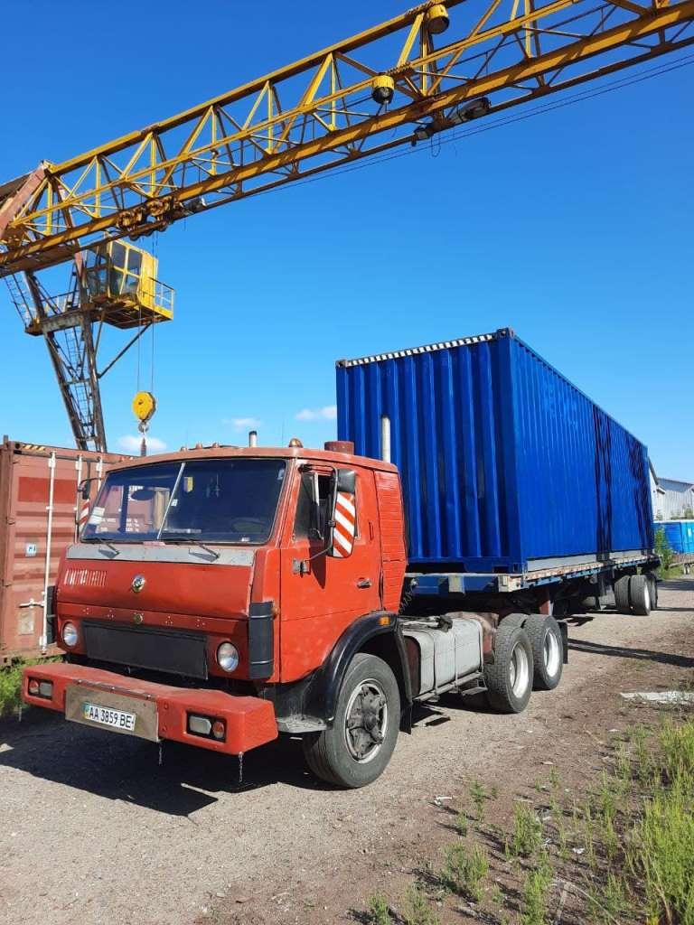 доставка контейнера 40 футов