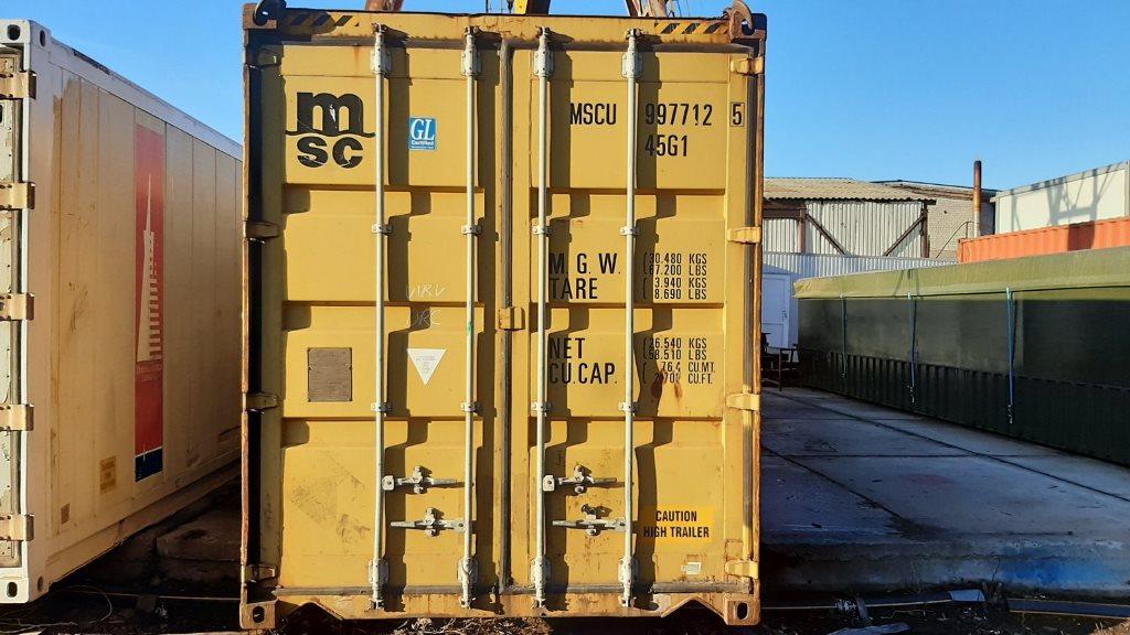 морской контейнер 12 метров 40 футовый