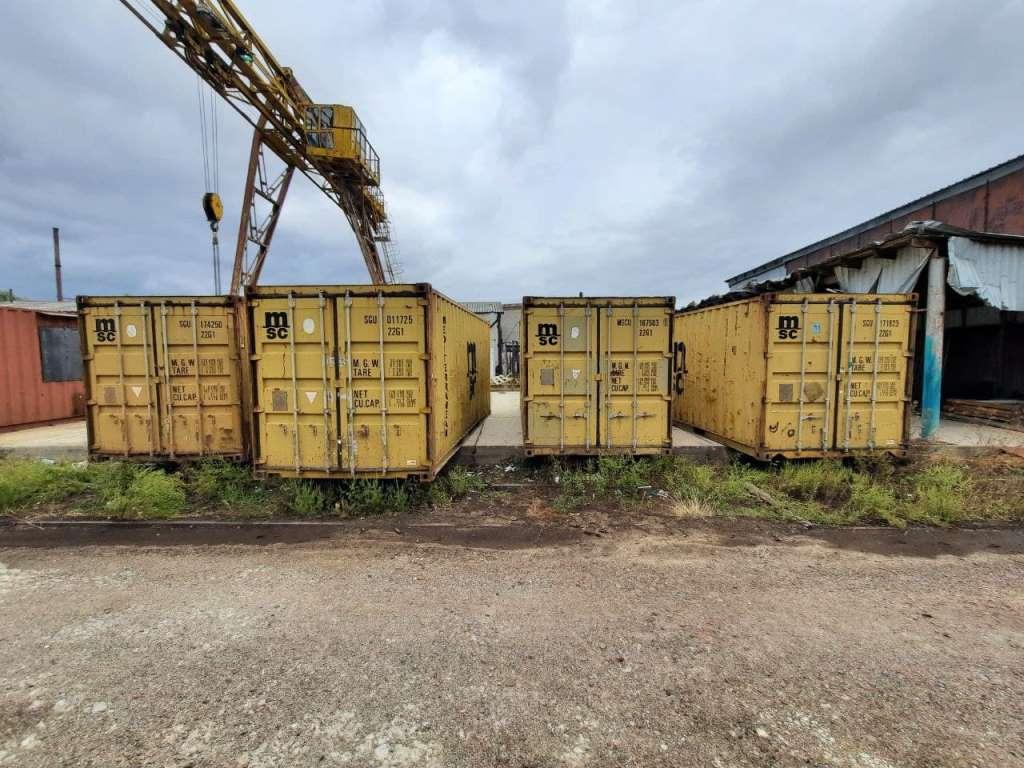 контейнер морской сухогрузный 20 футов
