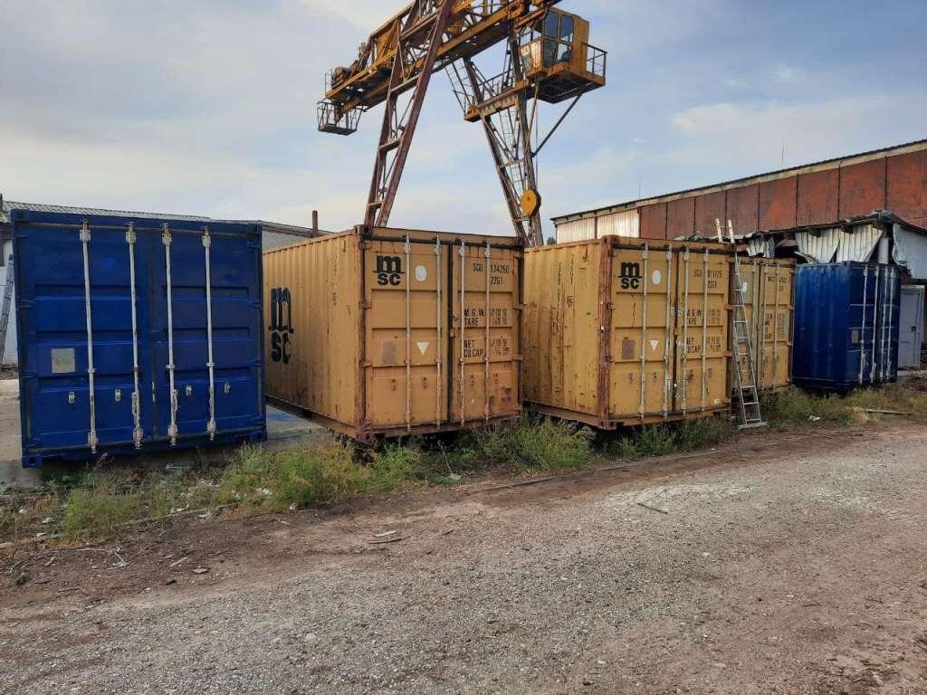 контейнер морской 6 метров