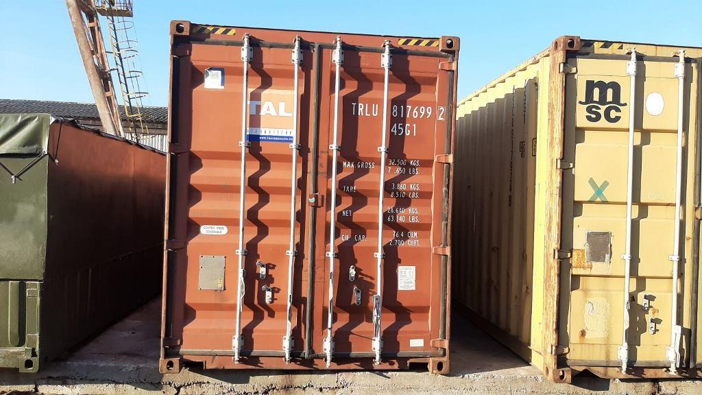 контейнер морской высокий 12 метров