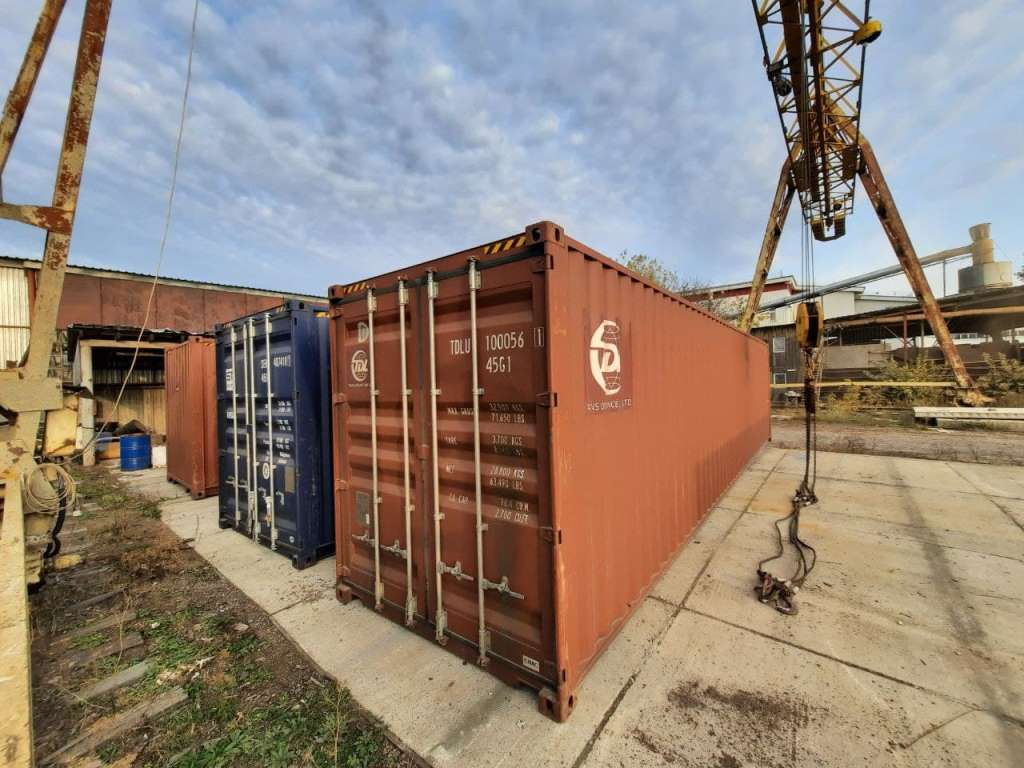 12 метровый морской контейнер высокий новый