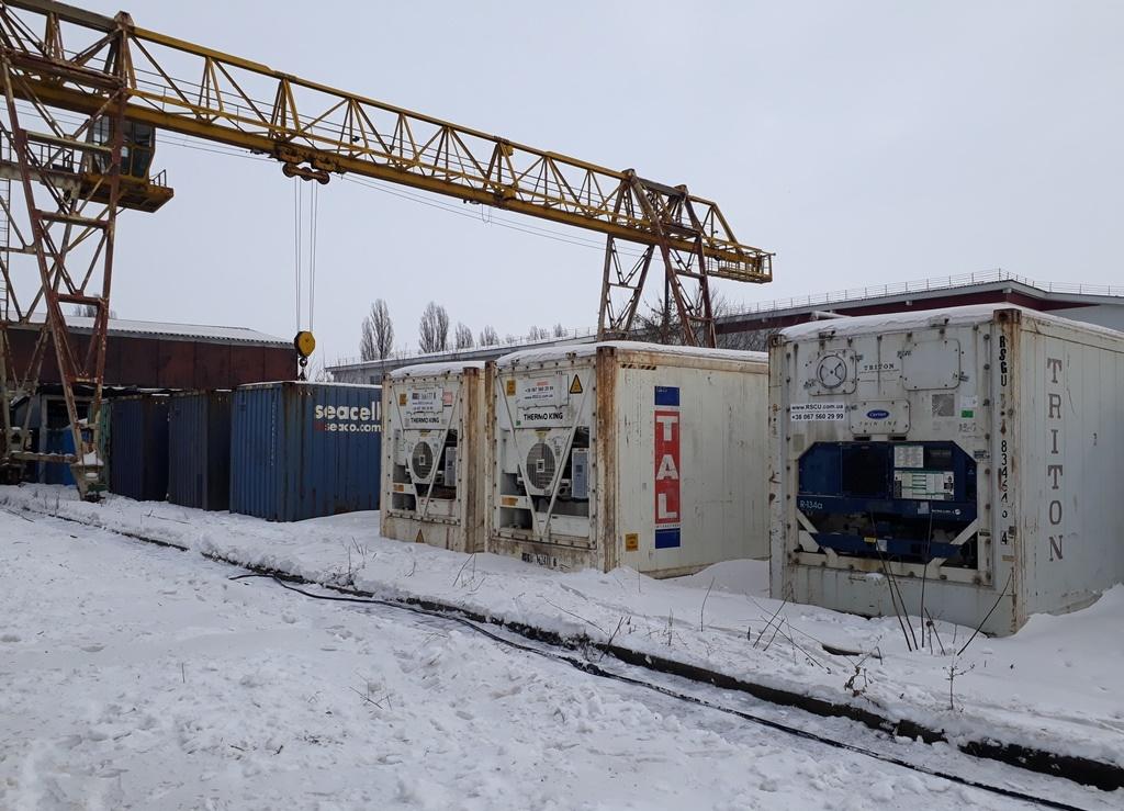 40 футовый контейнер рефрижератор
