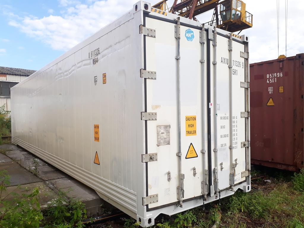 40 футовый рефрижераторный контейнер