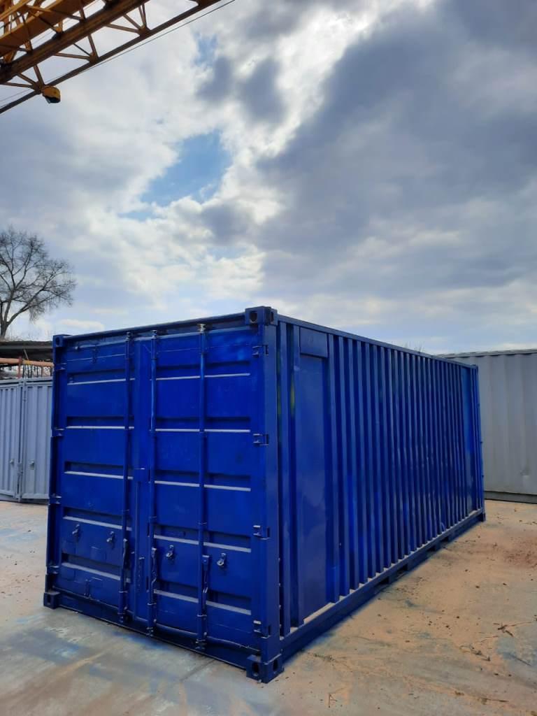 20 футовый жд контейнер