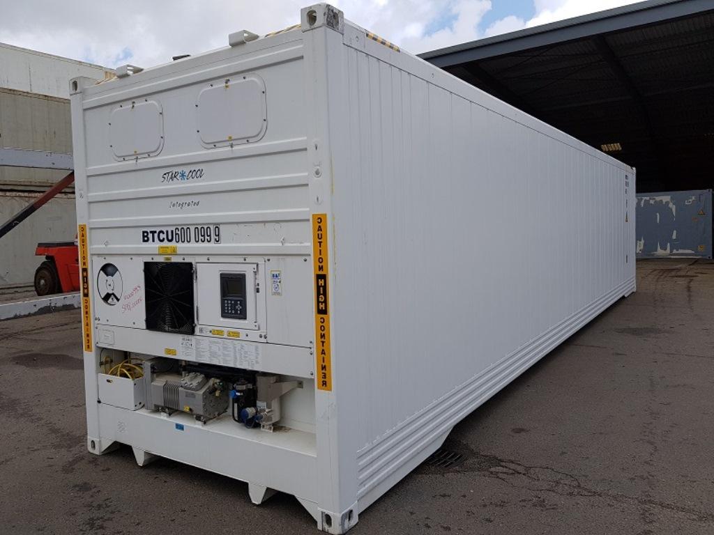 Рефконтейнер 40-футовый, морской реф, контейнер холодильник